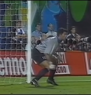 Pagliuca was renowned for saving penalties