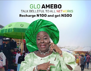 Glo Amebo: Recharge Your Line with N100 Airtime To Get N500 Airtime Bonus