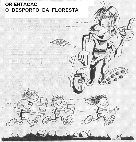 O desporto da floresta