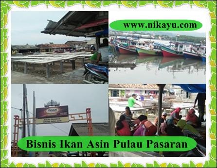 Bisnis Ikan Asin Pulau Pasaran Naik Omzet Ditengah Covid-19