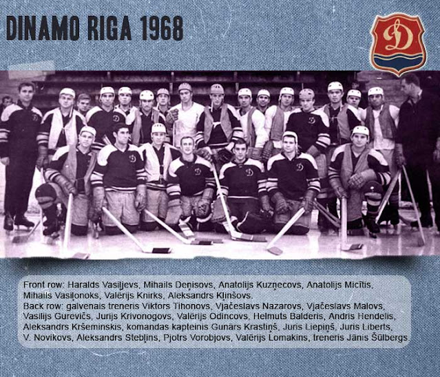 Динамо Рига 1968 состав команды