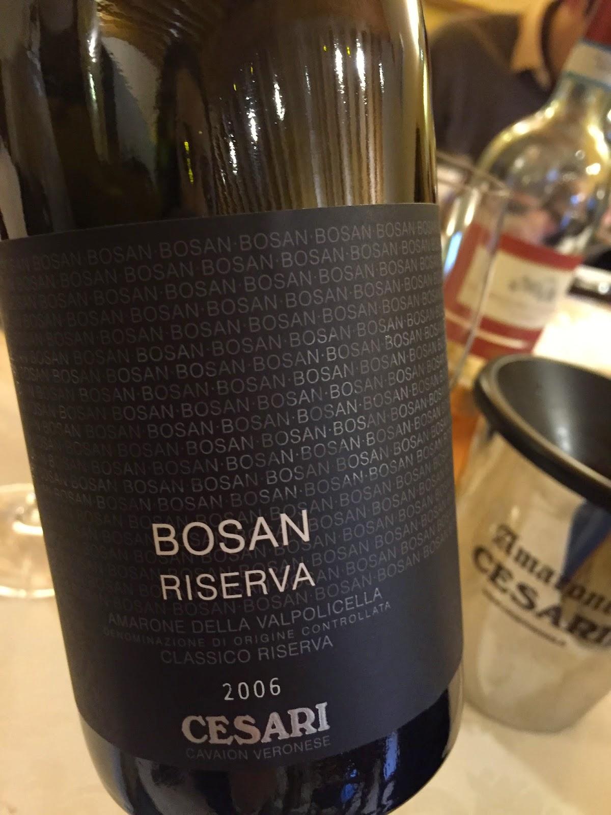 2006 Cesari Bosan Riserva