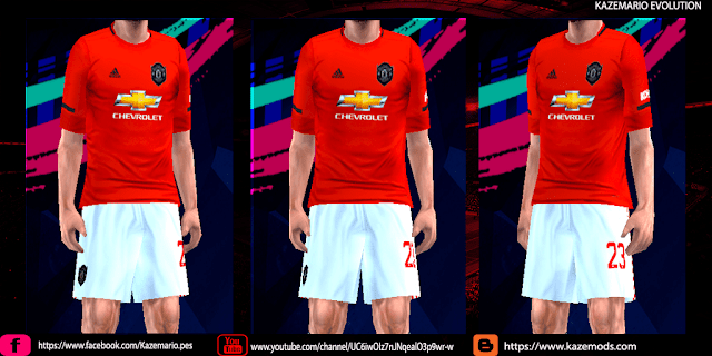 newest collection 8306a 49971 Manchester United 19-20 Home Kit Leaked For PES PPSSPP