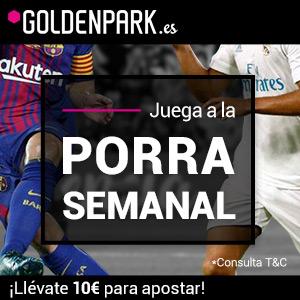 Porra semanal Goldenpark 10 euros premio