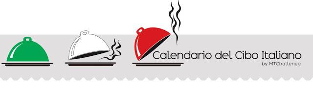 Logo Calendario del cibo italiano