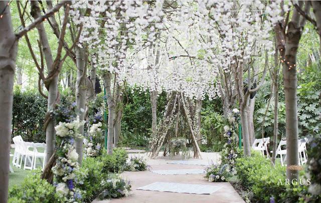 Best Outdoor Wedding Venues In Southern California hartley botanica wedding