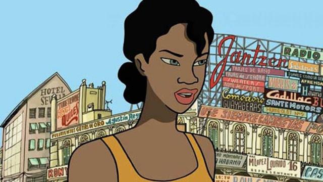 fotograma de la película española de animación Chico y Rita