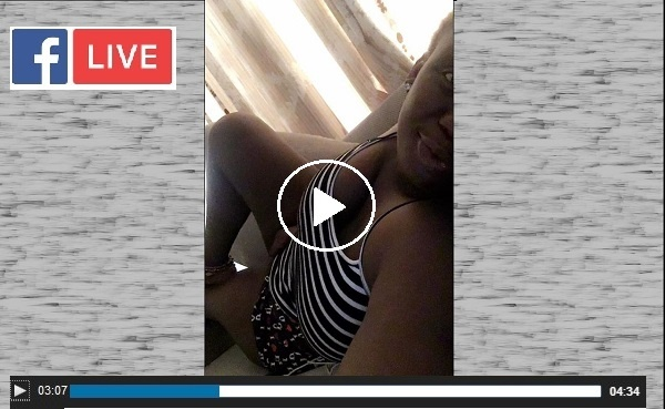 Madness!! Another Lagos Babe F!nger!ng Herself and Streaming it Live(Watch Video)