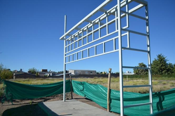 Comenzó la instalación de 10 nuevas estaciones ecológicas en San Rafael