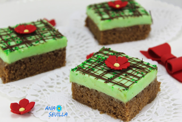 Borrachines de menta y chocolate Ana Sevilla con Thermomix