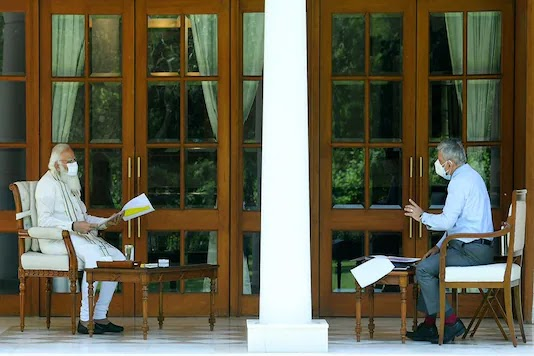 PM Modi meets CDS Rawat, reviews preparations by Armed Forces in fight against Covid-19