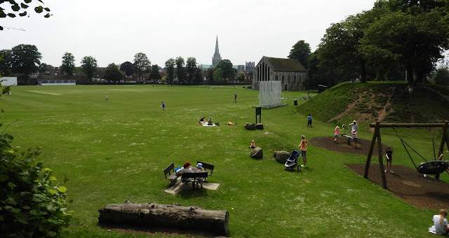 chichester cricket pitch city walls