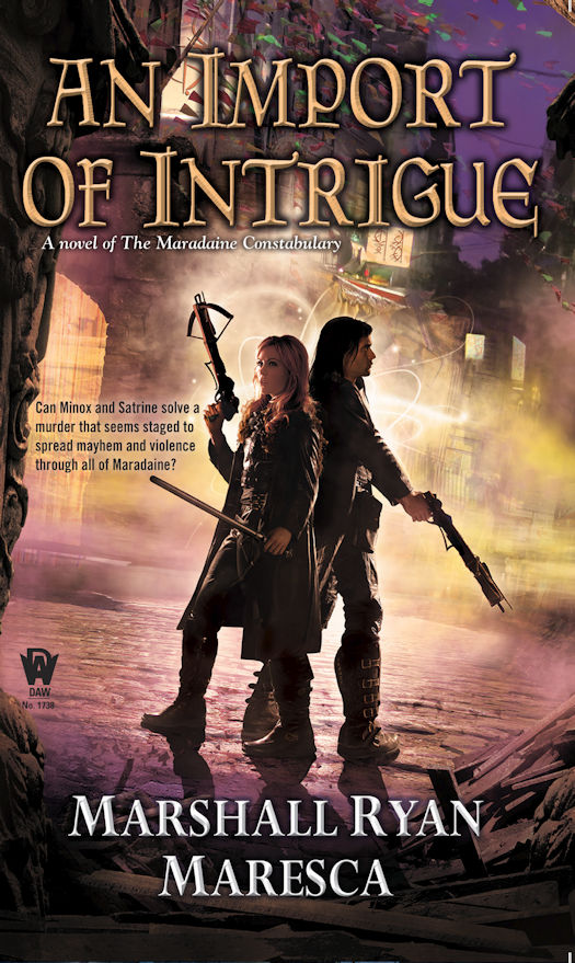 Exclusive Cover Reveal - AN IMPORT OF INTRIGUE by Marshall Ryan Maresca