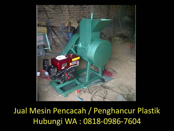 mesin giling plastik kering di bandung