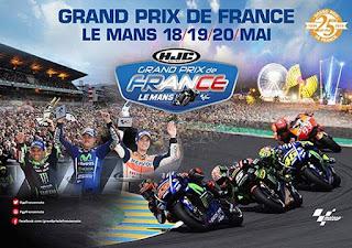 Starting Grid MotoGP Prancis: Zarco, Marquez, Petrucci, Rossi ke-9