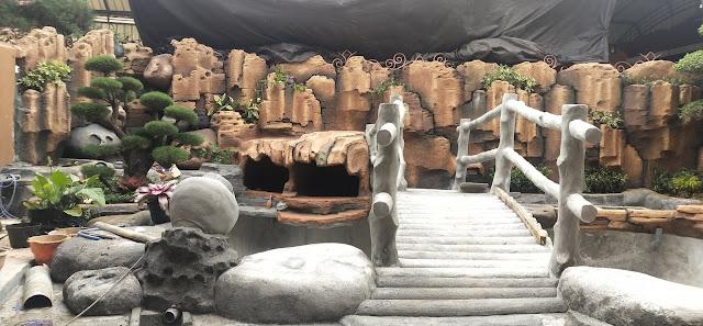 Indahnya perpaduan Dekorasi Tebing dan Taman | Tukang taman surabaya