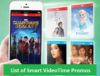 List of Smart VideoTime Promos