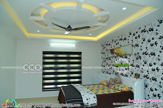 Kids room interior in Kerala