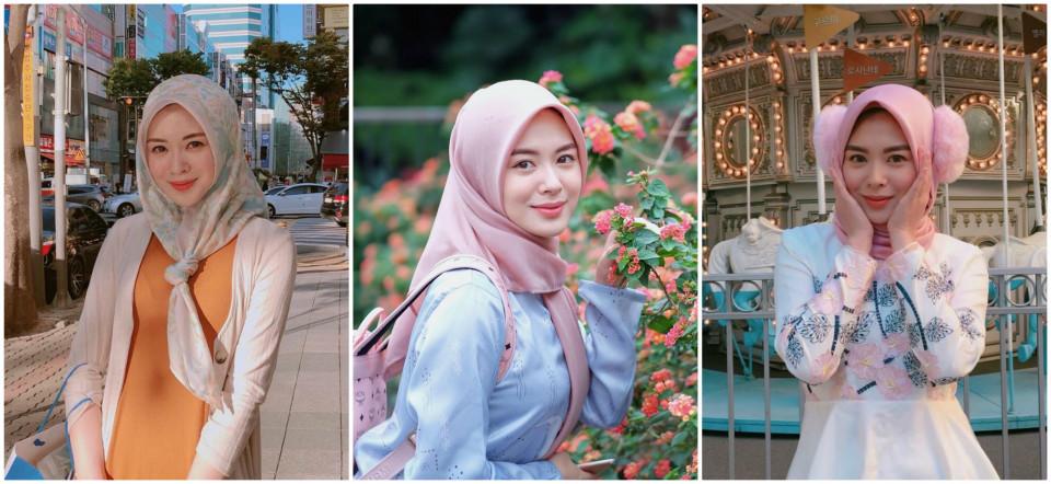 tutorial hijab ala selebgram
