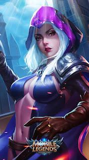 Natalia Glass Blade Heroes Assassin of Skins Old V1