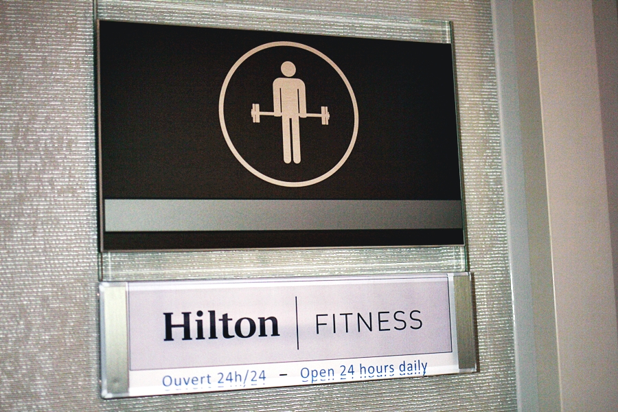 hilton hotel fitness room