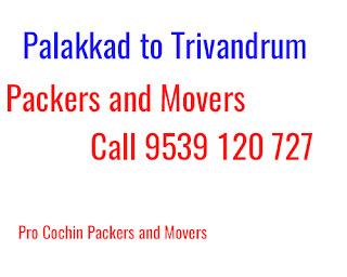 Palakkad to Trivandrum Movers