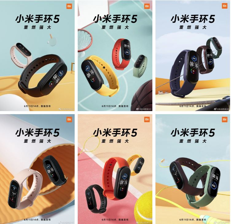 Xiaomi Mi Band 5 with Magnetic Charging: Here all information