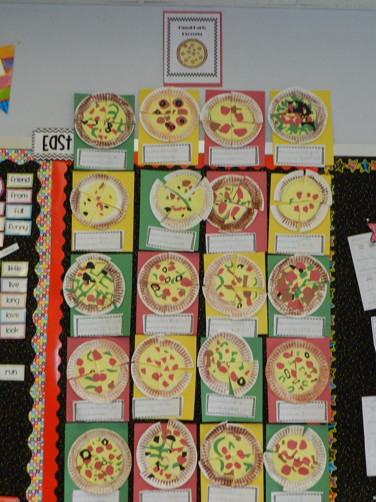 Mrs Dryzal S Fantastic First Grade Push Pull Pizza And