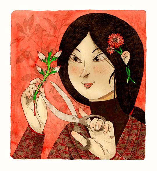 Ilustración de Iria Fafián