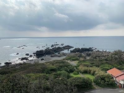 室戸岬展望台からの景色