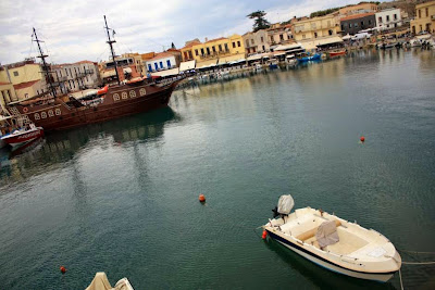 Venetian Port in Rethymnon