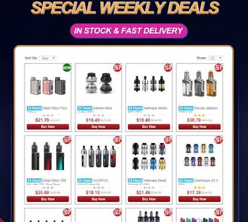 Best Weekly Deals on Sourcemore!