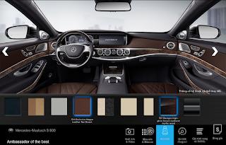 Nội thất Mercedes Maybach S600 2015 màu Nâu Nut (514)