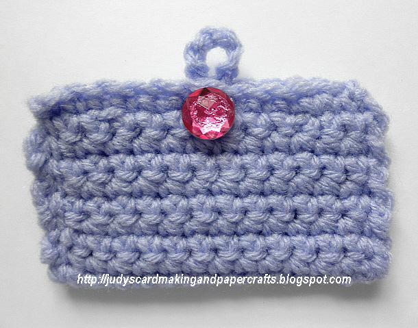 Judys handmade creations crocheted business card holder here is some of the different colors i made some in tan and burgundy but i didnt take a photo of them here is the link to the free pattern i reheart Choice Image