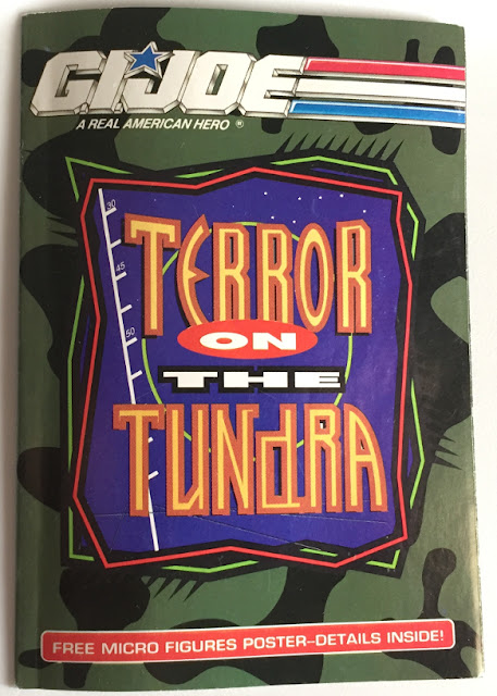 1992 Terror on the Tundra Mail Away Pamphlet, Ninja Viper, Gold Head Steel Brigade, 1992