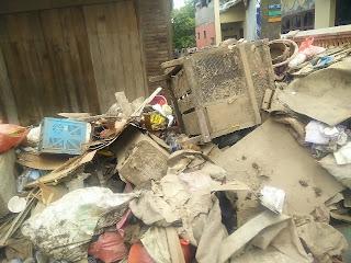 Sampah dan Lumpur Menumpuk, Keluhan Tersendiri Warga