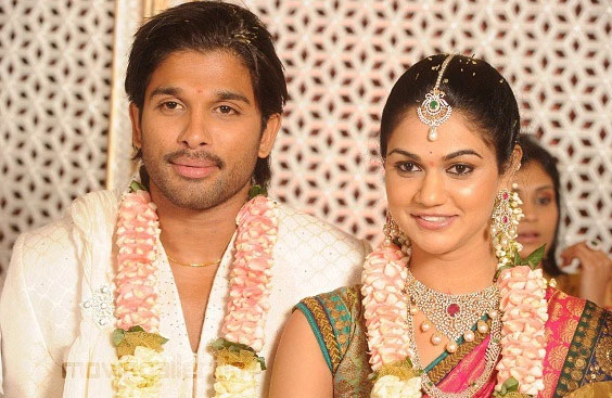 Allu Arjun Marriage Photo