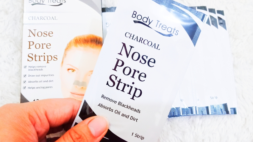 SKIN CARE REVIEW | Body Treats: Charcoal Nose Pore Strips (by @TheGracefulMist | www.TheGracefulMist.com) - Top beauty, fashion, lifestyle, and skincare blog and website in Quezon City, Philippines (Watsons Philippines Producty - Beauty Product Reviews)