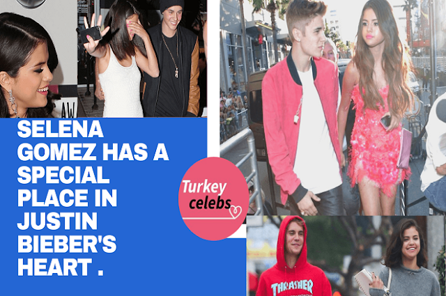 Selena gomez has a special place in justin bieber's heart .