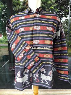 Baju Kemeja Pria Tenun NTT