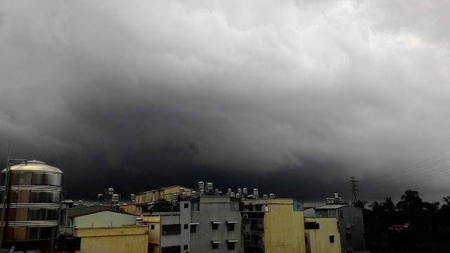Badai (Thaifong) Pertama Sudah Terbentuk dan Akan Jadi Badai Pertama Taiwan