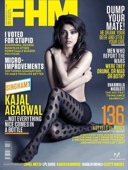 Kajal agarwal cover magazine conversations!