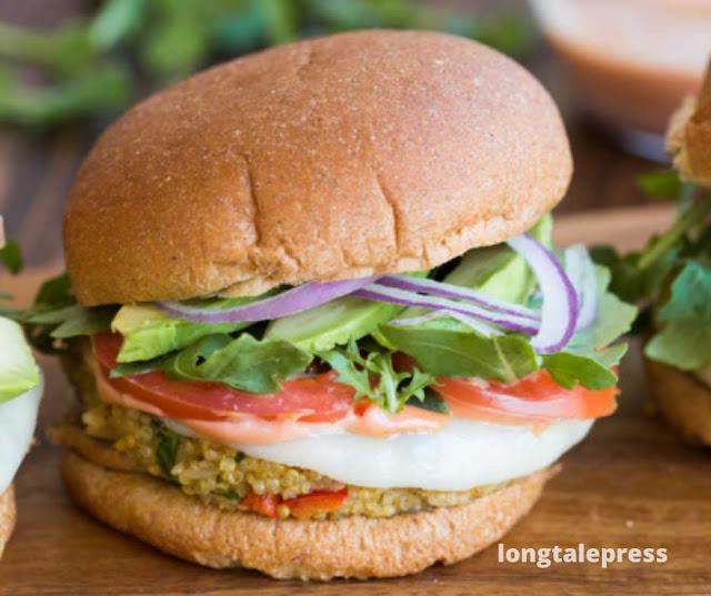 Quinoa Veggie Burger Recipe