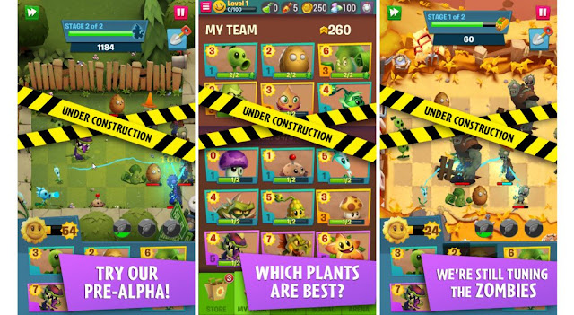 Plants Vs Zombies 3 Available in Closed Beta for Android