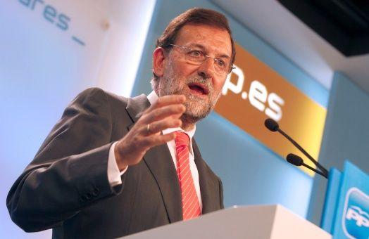Rajoy: es una broma optar por un candidato preso para Cataluña