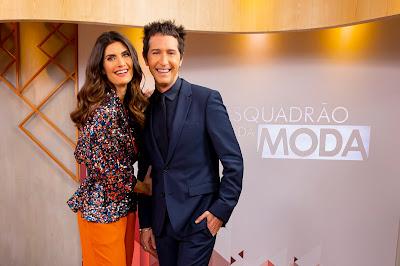 Isabella e Arlindo  - Foto: Gabriel Cardoso/SBT