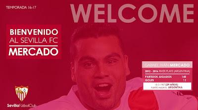 Gabriel Mercado Sevilla FC