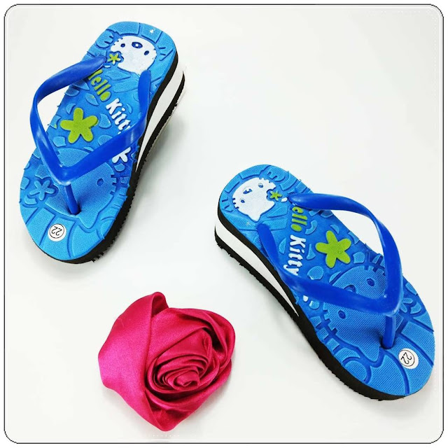 Sandal Anak Terlucu | HK Tebal Baby | 21-25