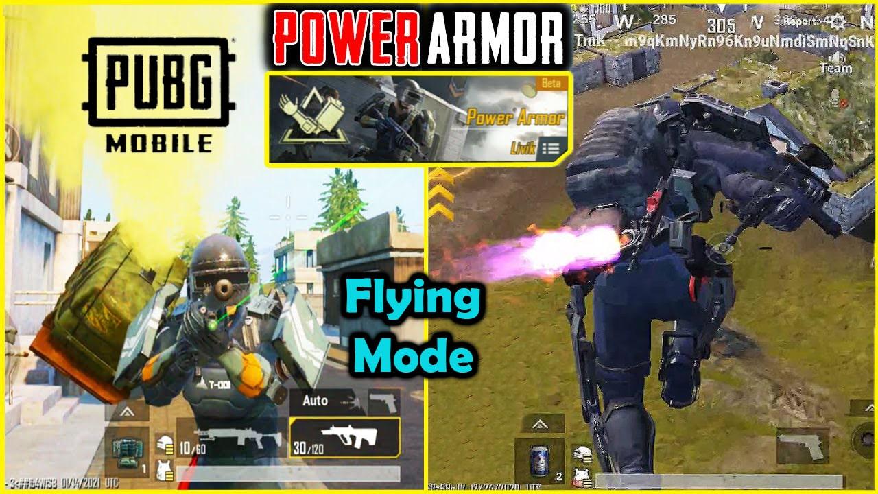 PUBG Mobile 1.2 Power Armor Mode
