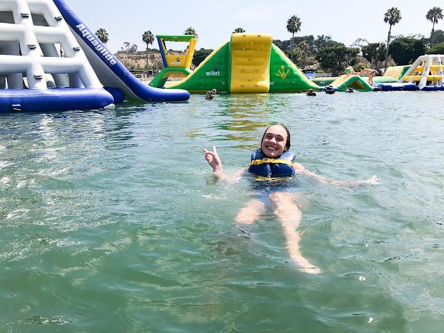 Floating Waterpark